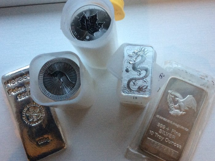 Silver Bullion. Not just for Xmas but for life!