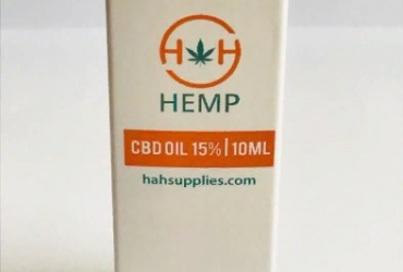 CBD Oil 15% 1500mg 10ml by H&H Hemp