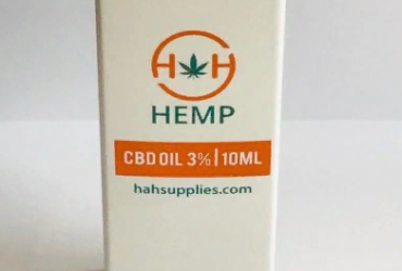 CBD Oil 3% 300mg 10ml by H&H Hemp