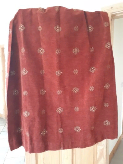 Fully lined curtains (over 4m of fabric