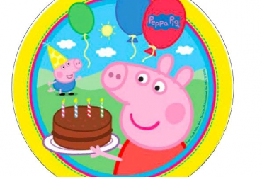Peppa Pig Cake topper Icing sheet