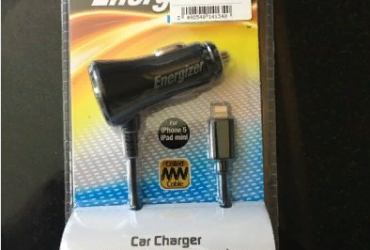 Energiser Car Charger for iPhone 5 -6
