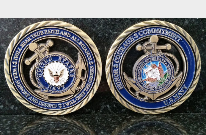 United States Navy Coin