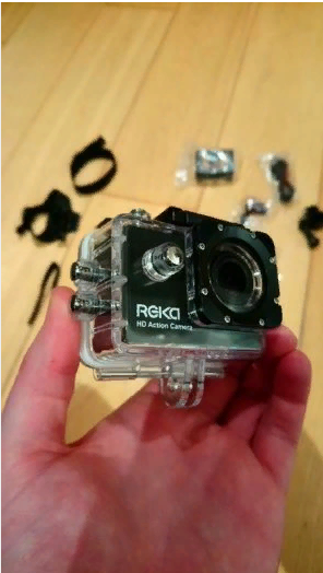 Reka HD Action Camera – Go Pro Alternative – Open To Offers