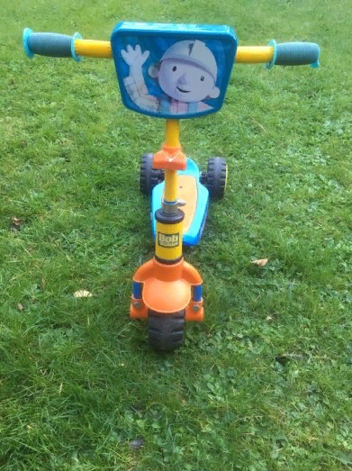 bob the builder scooter