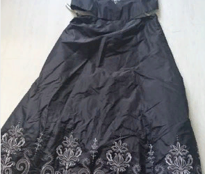 2 piece skirt and bodice