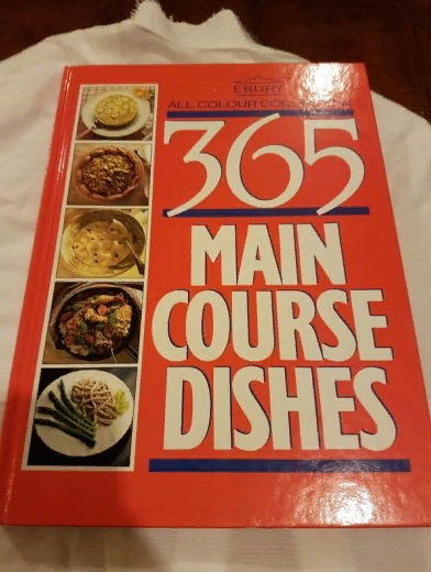 365 main course dishes cookbook