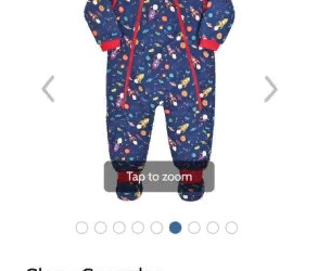 Jo Jo Maman Bebe Toddler Snuggle Suits Brand New