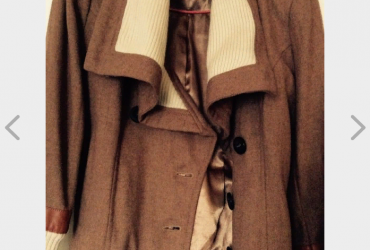Vintage Tan Coloured Jacket