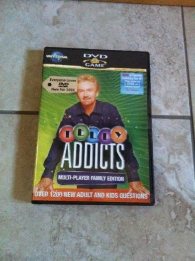 Telly Addicts Interactive DVD Game