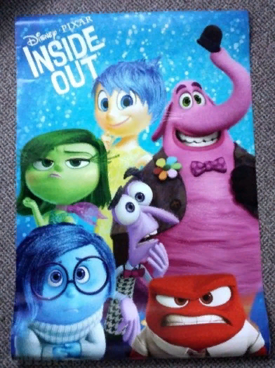 Officially licenced Inside Out poster