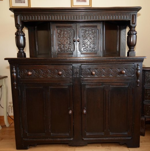 Oak Court Cupboard