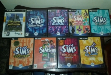PC cd-rom Games – The Sims