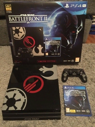 PS4 Pro Star Wars Limited Edition