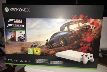 Xbox one X (white new