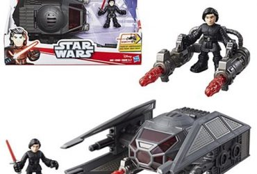 Vehicle Star Wars Galactic Heroes Kylo Ren and TIE Silencer