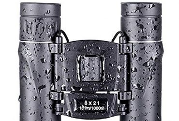 Anyprize XMS S4 Folding High Powered Lightweight Binoculars with Vision Clear Bird Watching Great for Outdoor Sports Games and Concerts for Travel Adults, Kids