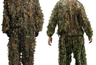 wuy New CS 3D Tactical Yowie Sniper Camouflage Clothing Bionic Ghillie Suit Camouflage Hunting Clothes