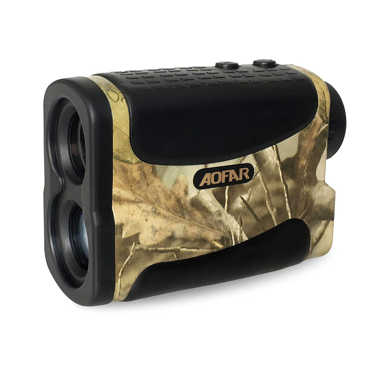AOFAR Range Finder 1000 Yards Waterproof for Hunting Golf, 6X 25mm Measurer Laser Rangefinder with Speed Scan and Fog, Free Battery