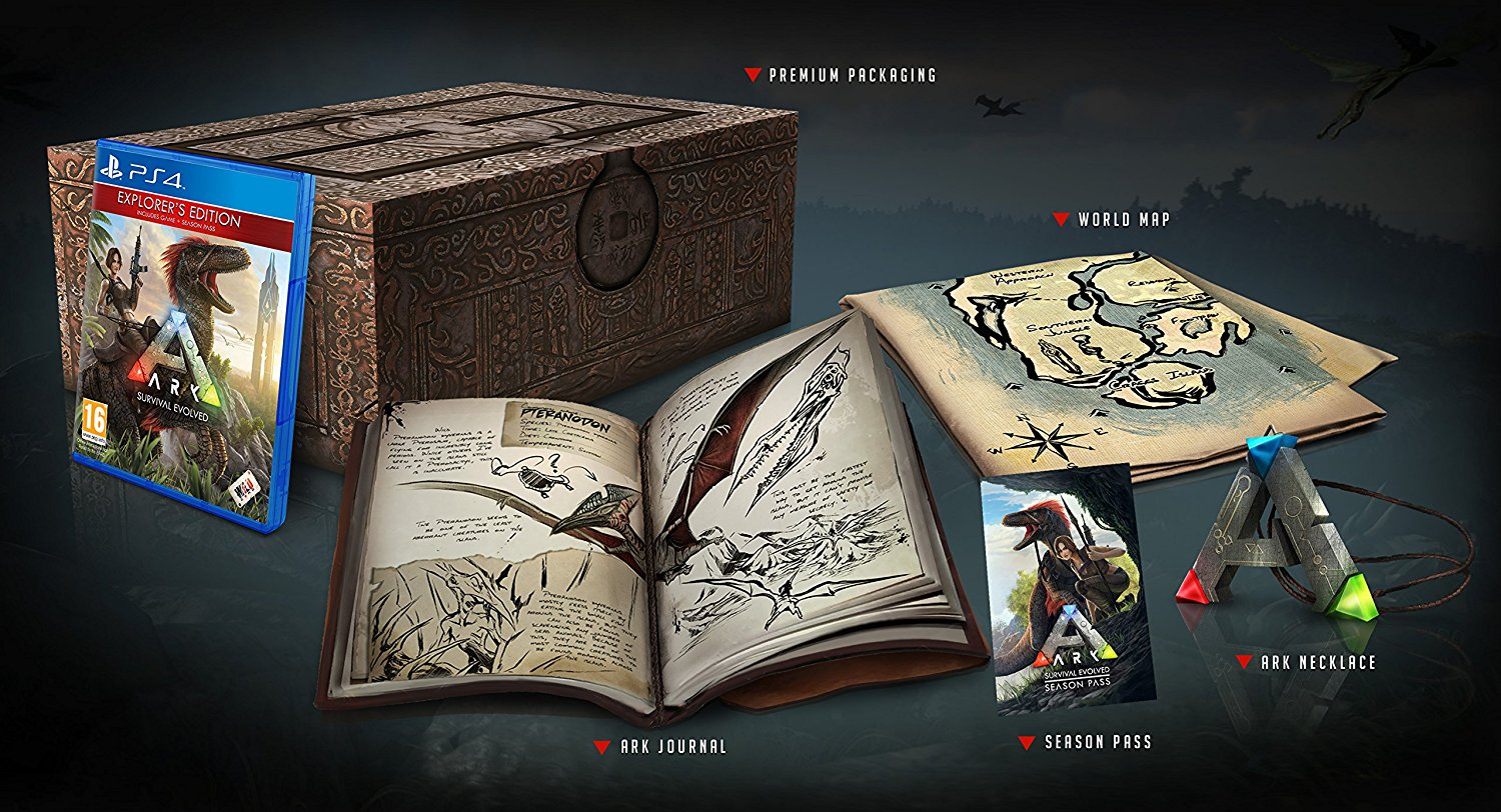 ARK Survival Evolved Limited Collector's Edition PS4