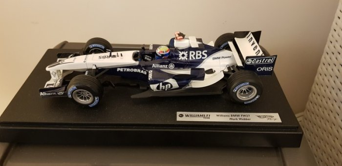 Williams F1 BMW FW27 Mark Webber